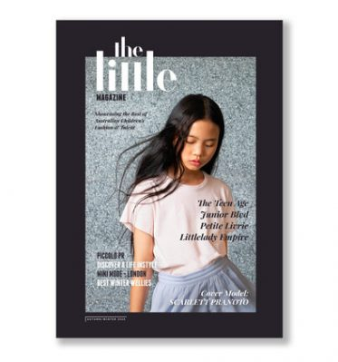 A picture of the cover of The Little magazine.