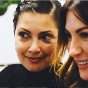 A picture of Daily Telegraph editor Catherine Nikas and marketing expert Sarah Cichy.